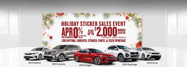 Save Big at the Kia Holiday Sticker Sales Event in Burlington NC