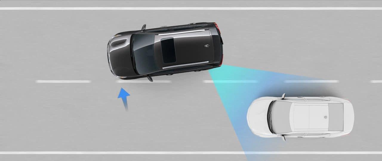 Blind-Spot Collision Avoidance Assist-Rear (BCA-R)
