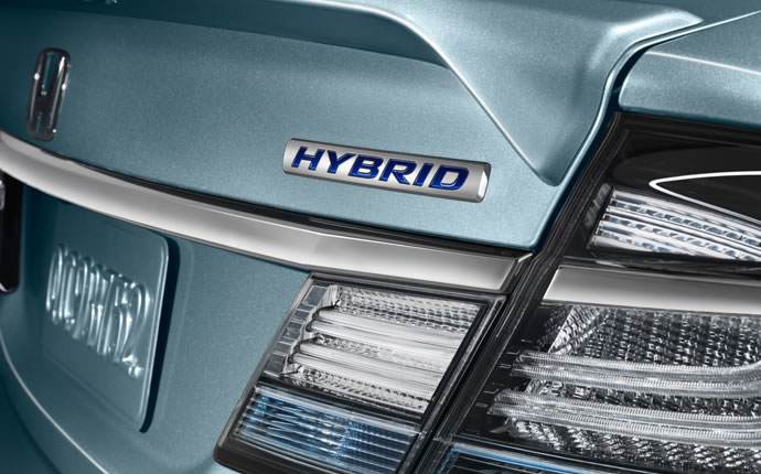 2015 Civic Hybrid Decal