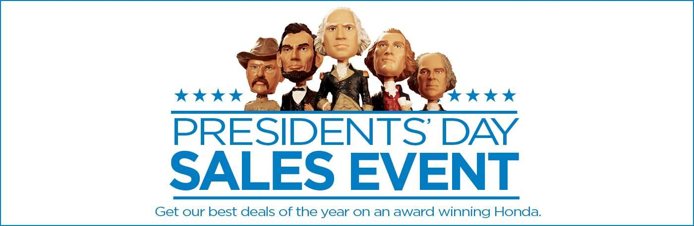 Capital Region Honda Presidents Day Sales Event