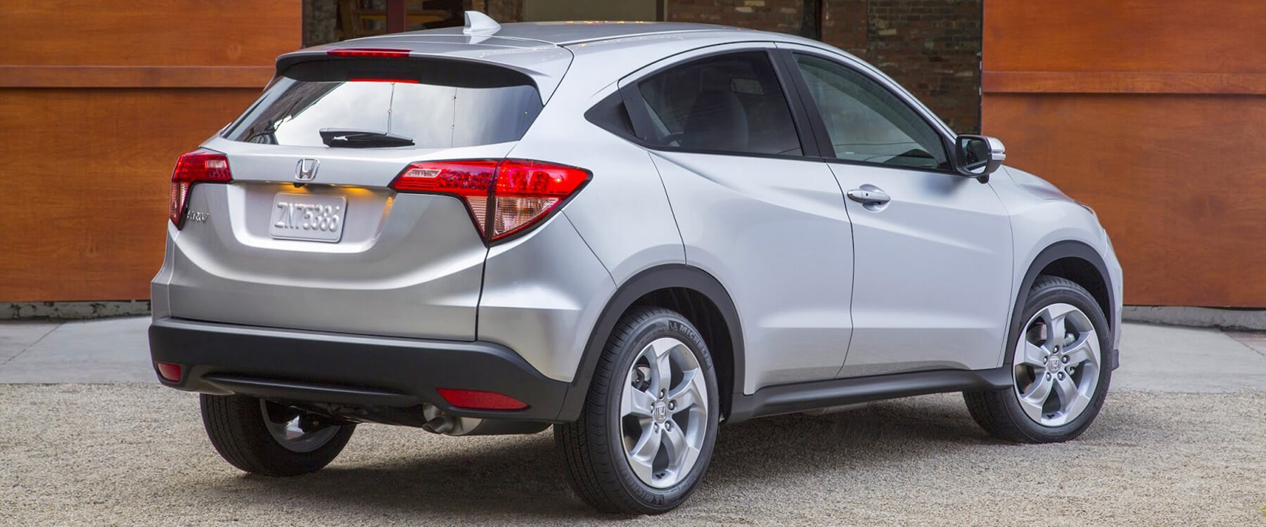 2016 Honda HR V Rear