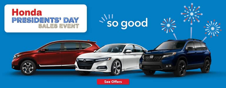 Capital Region Honda Presidents' Day Sales Event