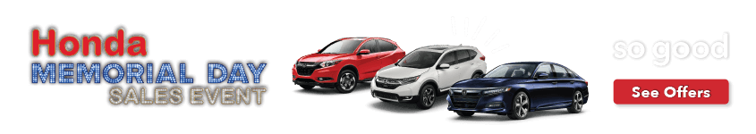 Capital Region Honda Memorial Day Sales Event