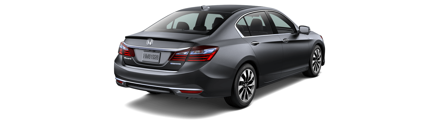 2017 Honda Accord Hybrid Rear Angle
