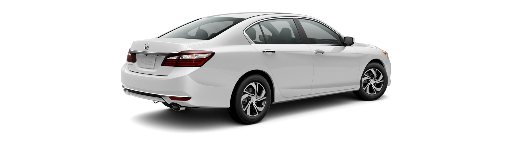 2017 Honda Accord Sedan Rear Angle