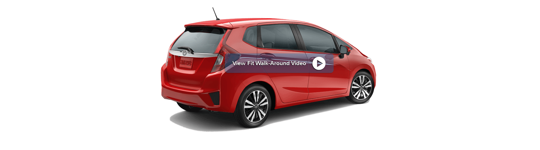 2017 Honda Fit Rear Angle