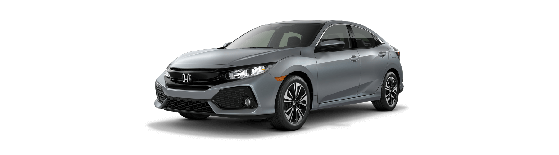 2017 Honda Civic Hatchback Front Angle