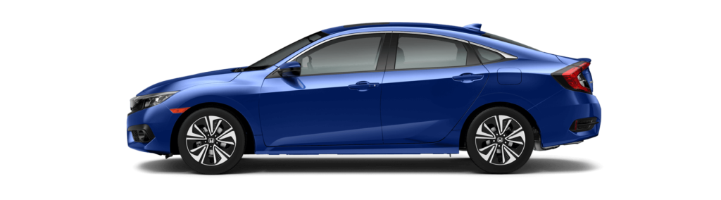 2017 Honda Civic Sedan Side Profile