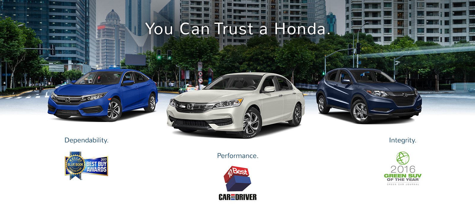 You Can Trust Honda