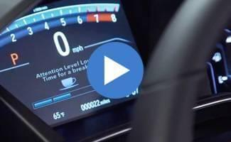 2017 Honda CR-V Driver Attention Monitor System Video
