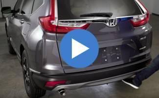 2017 Honda CR-V Hands-Free Power Tailgate Video