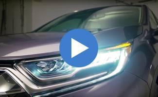 2017 Honda CR-V Headlights Video