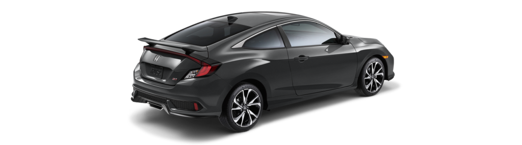 2017 Honda Civic Si Coupe Rear Angle