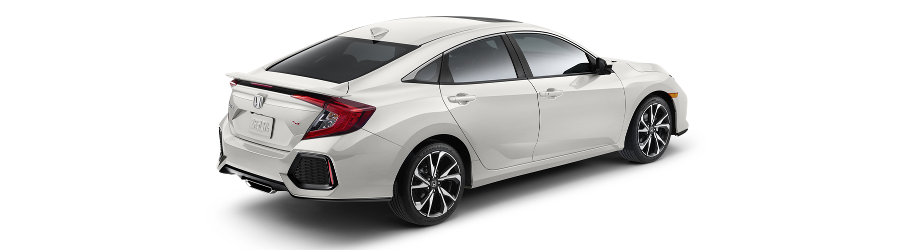 2017 Honda Civic Si Sedan Rear Angle