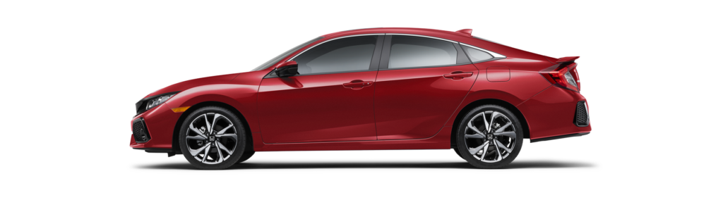 2017 Honda Civic Si Sedan Side Profile