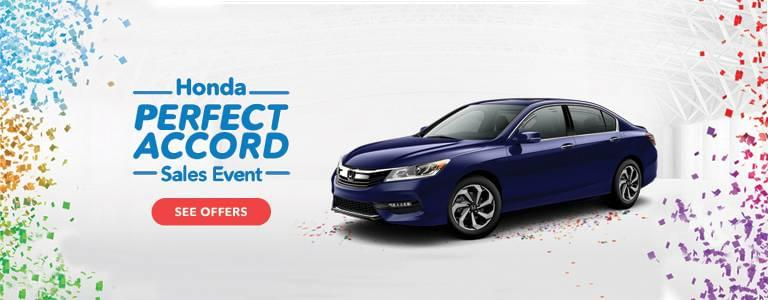 Capital Region Honda Perfect Accord Sales Event