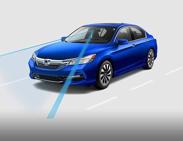 Honda Accord Hybrid Road Departure