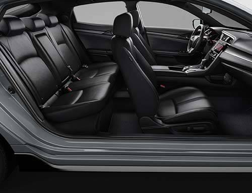 high tech comfort and luxury in the 2017 honda civic. Black Bedroom Furniture Sets. Home Design Ideas