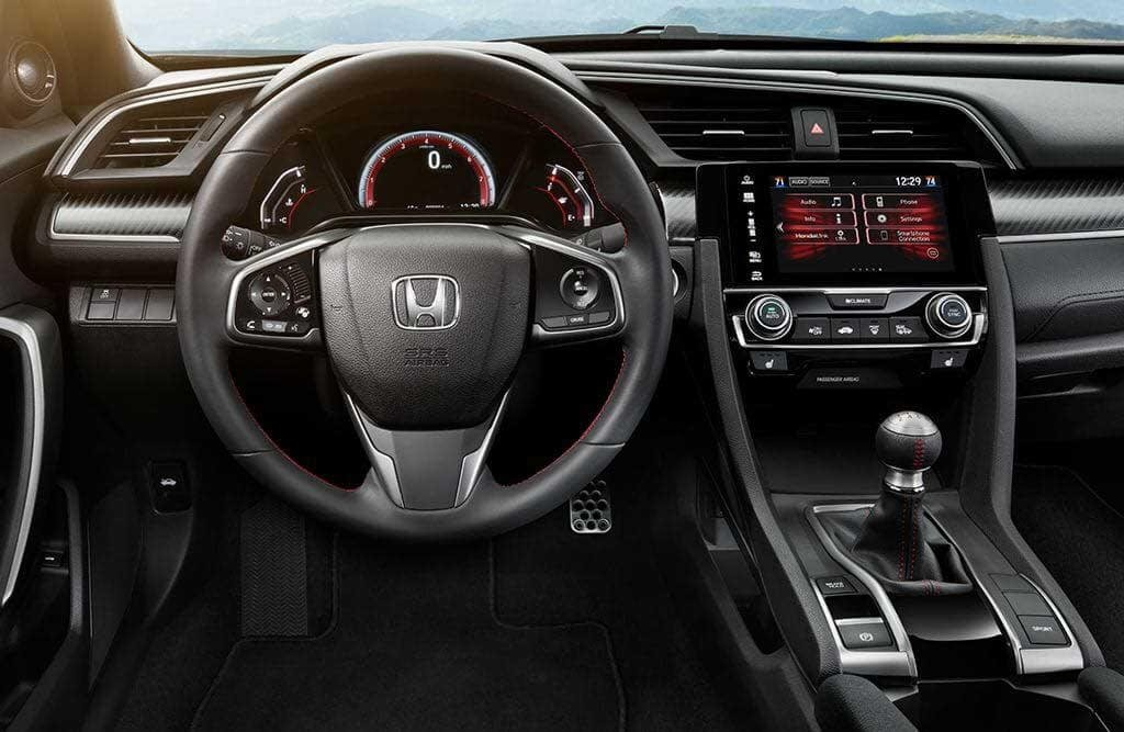 The comfortably sporty 2017 honda civic si interior - 2016 honda civic si coupe interior ...