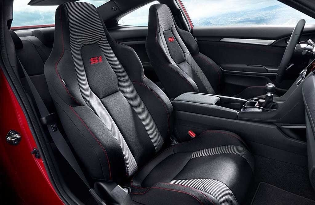2017 Honda Civic Si Seating