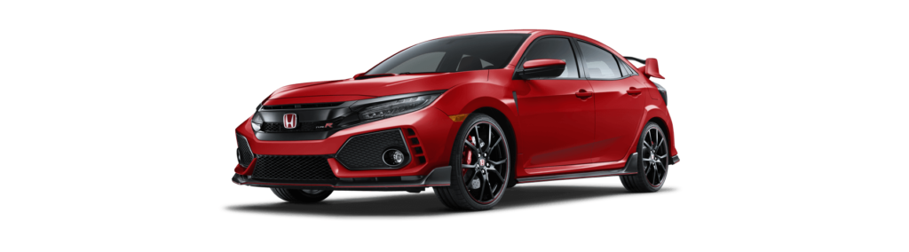 2017 Honda Civic Type R Front Angle