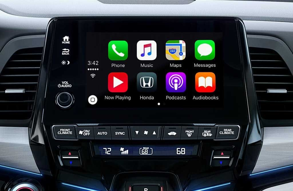 2018 Honda Odyssey Apple Carplay