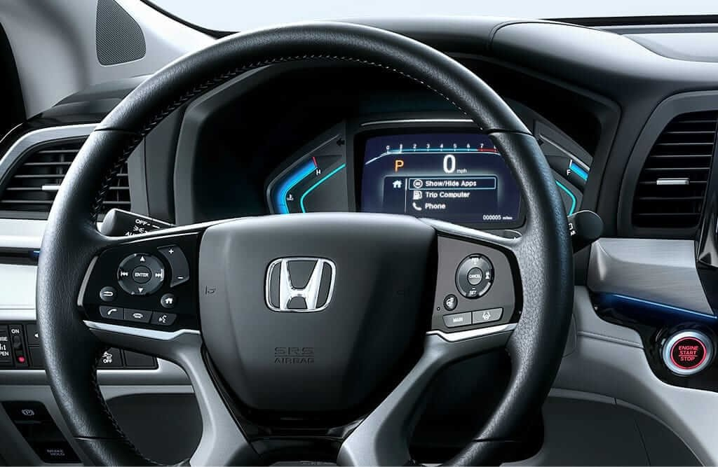 2018 Honda Odyssey Bluetooth Handsfree Controls