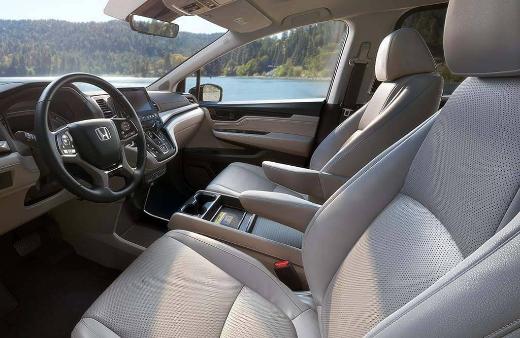 2018 Honda Odyssey Leather Trimmed Seating