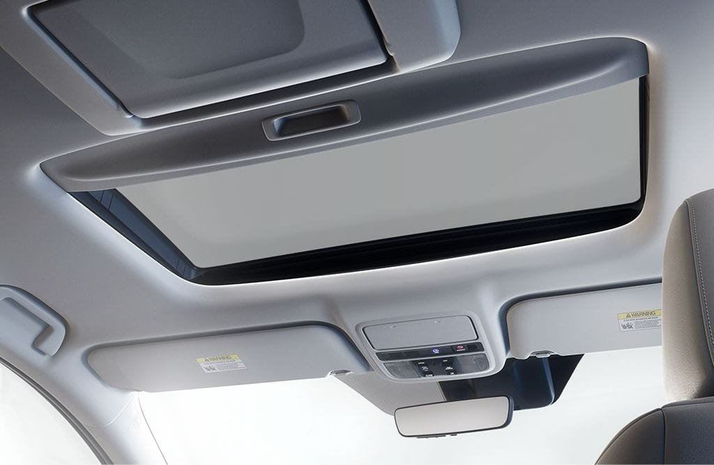 2018 Honda Odyssey Moonroof and Homelink System