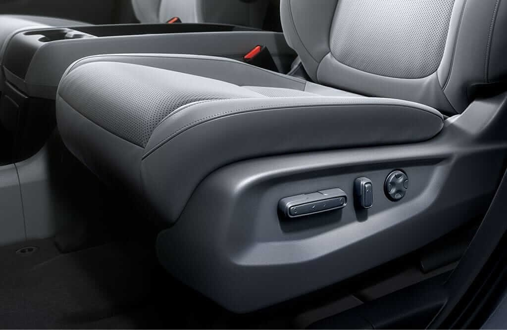 2018 Honda Odyssey Power Adjustable Seating Controls