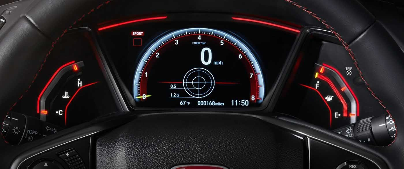 2017 Honda Civic Type R Modes