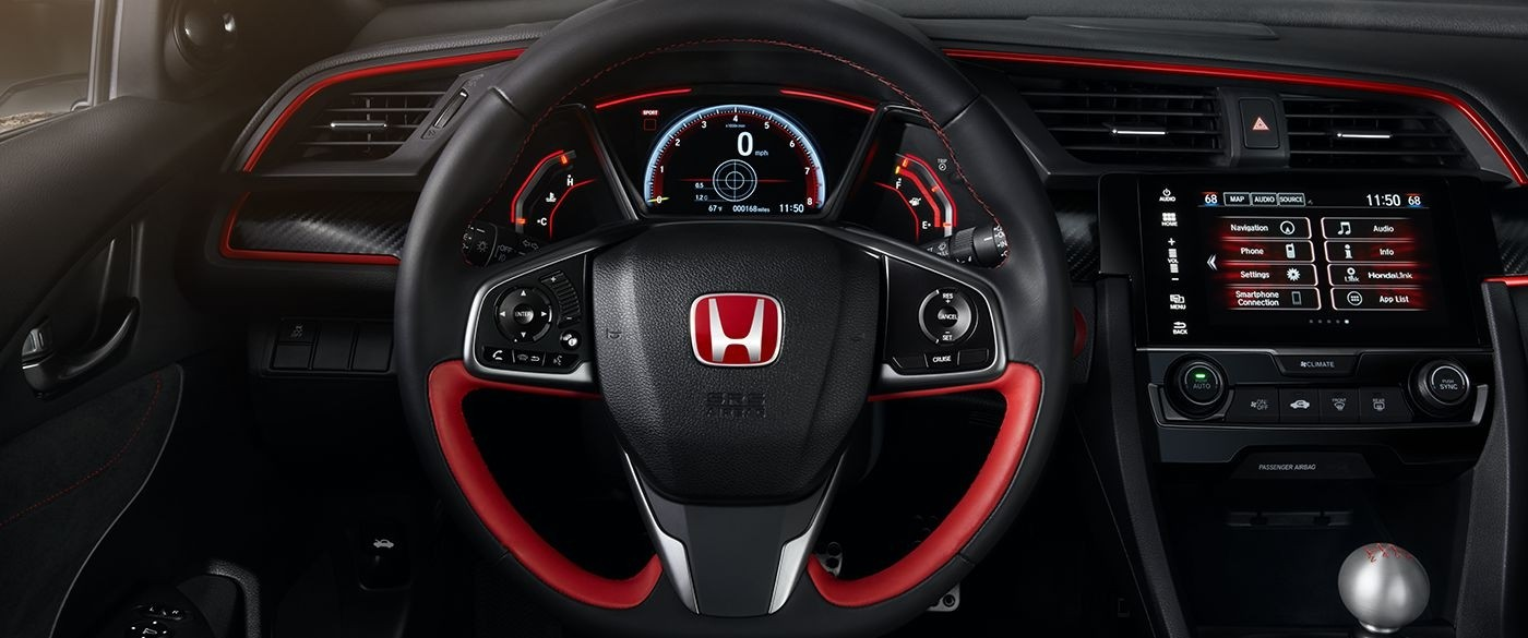 2017 Honda Civic Type R Steering Wheel