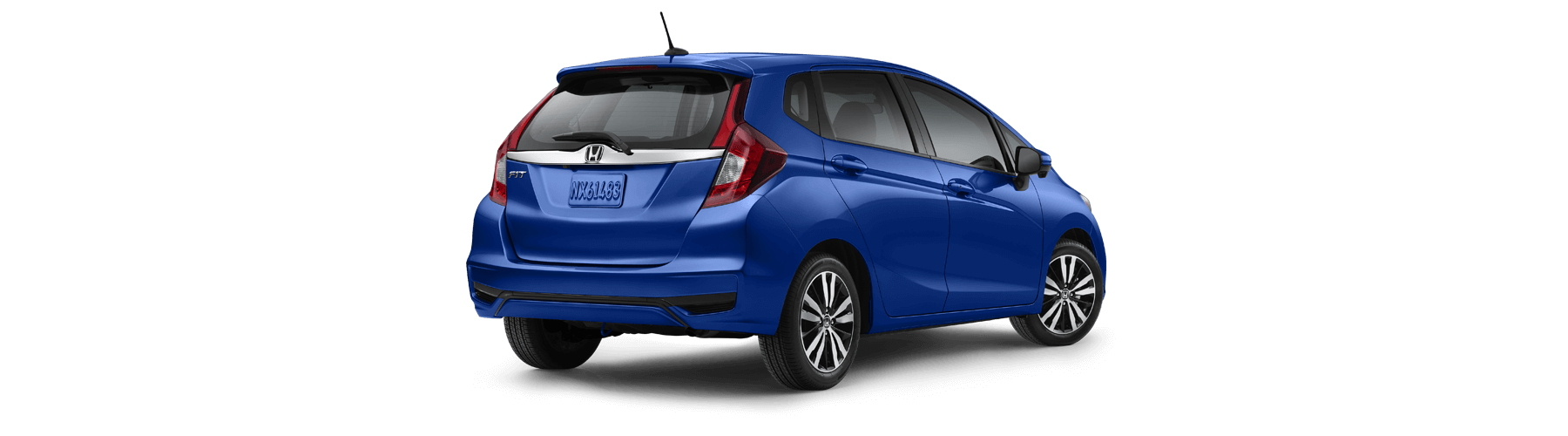 2018 Honda Fit Rear Angle