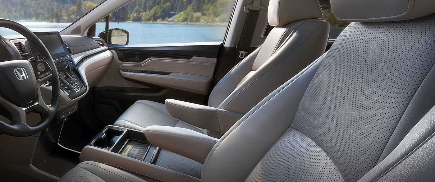 2018 Honda Odyssey Leather Seating