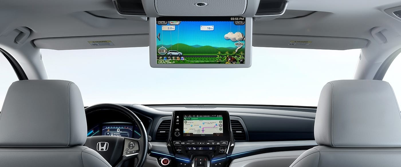 2018 Honda Odyssey Rear Entertainment System