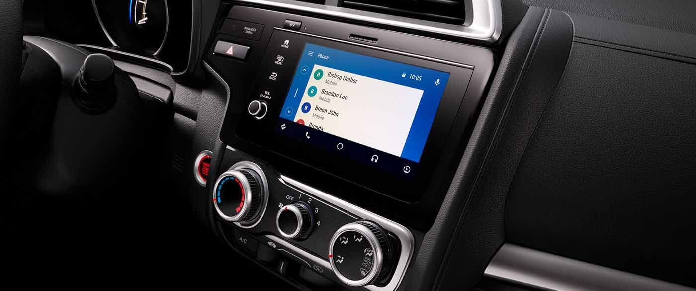 Honda Fit Android Auto