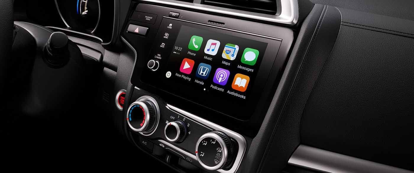 Honda Fit Apple Carplay