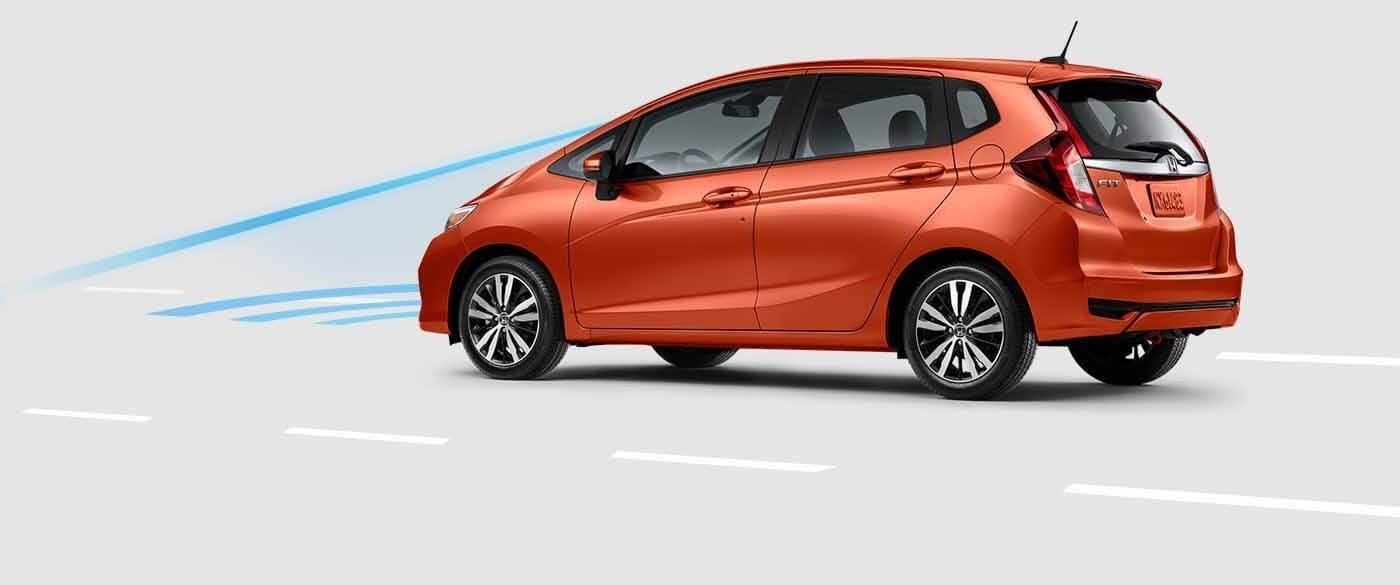 Honda Fit Collision Mitigation Braking System