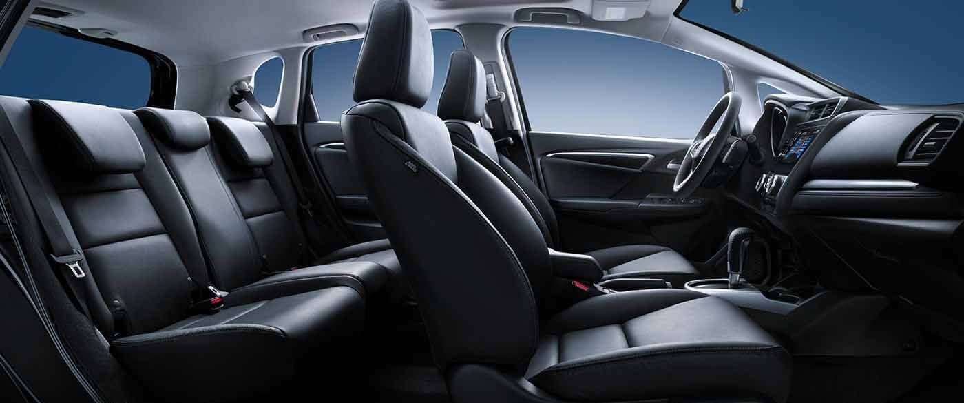 Honda Fit Interior Seating Side View