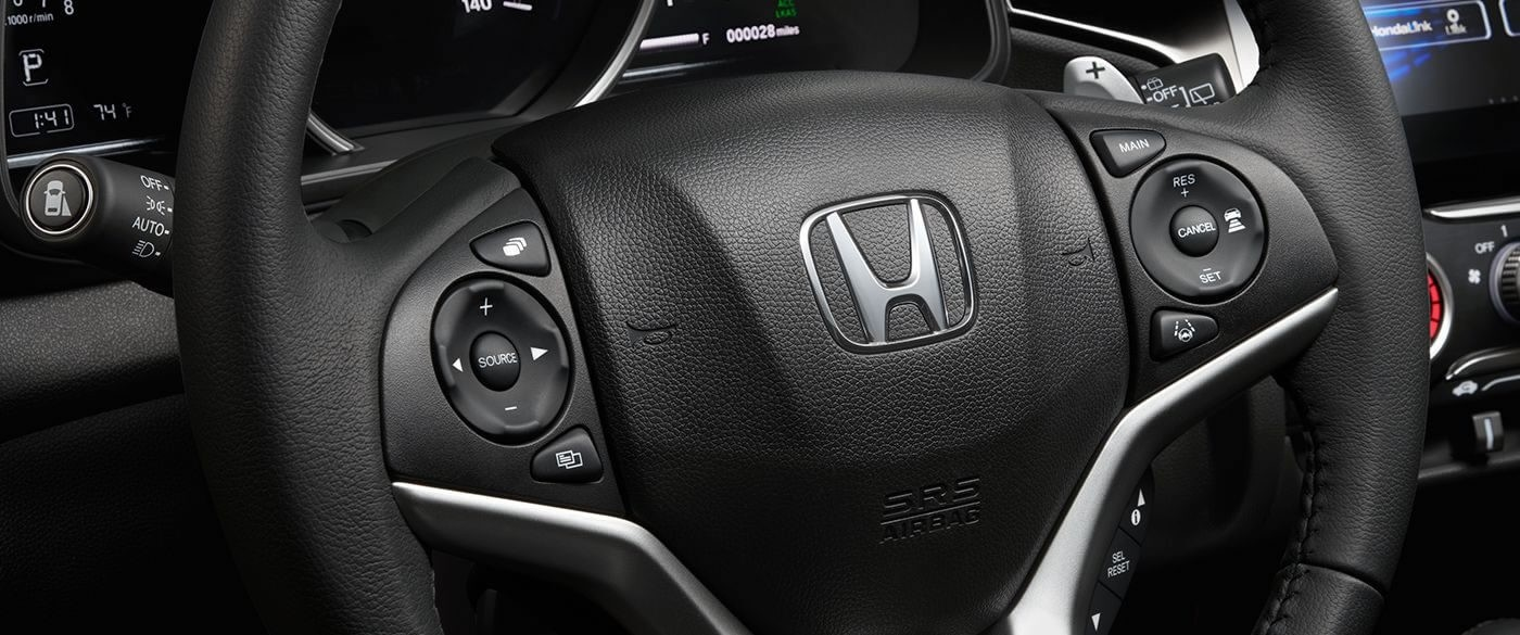 Honda Fit Leather Wrapped Steering Wheel