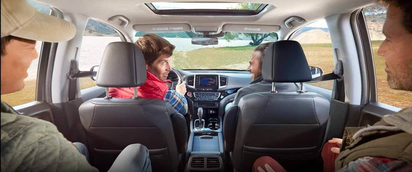 Honda Ridgeline backseat