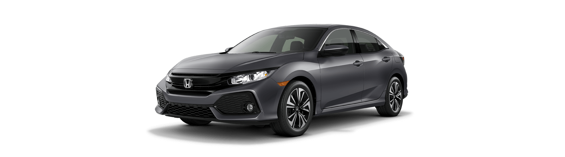 2018 Honda Civic Hatchback Front Angle