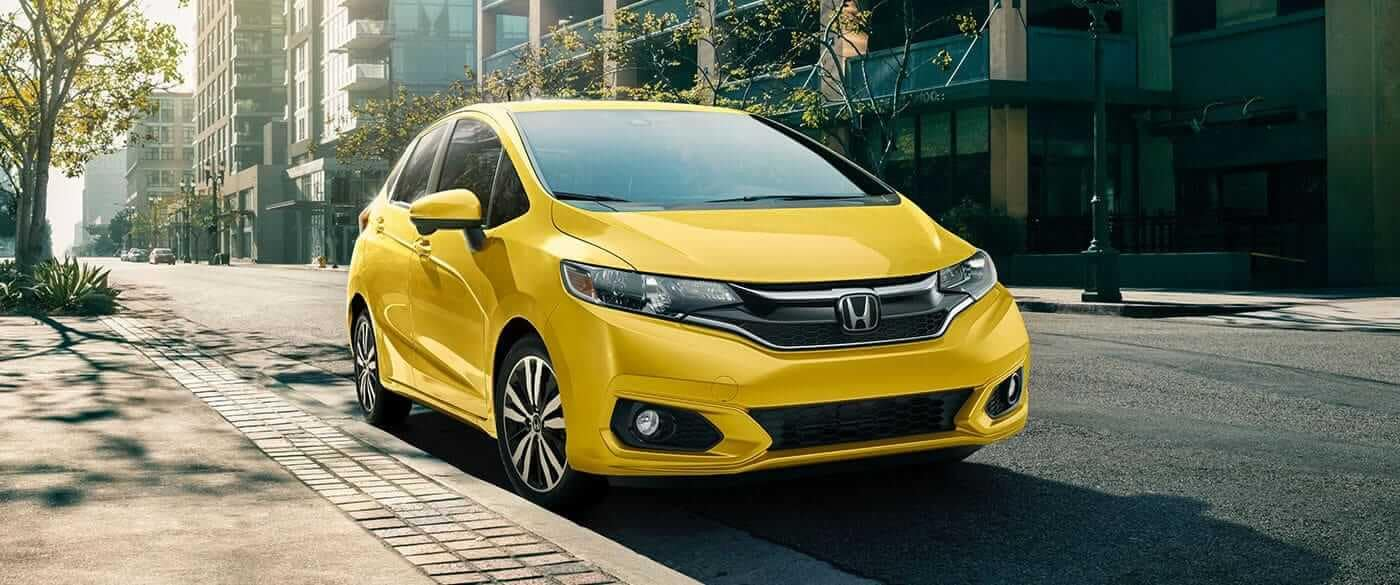 2018 Honda Fit parked