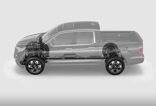 2018 Honda Ridgeline Engine