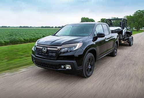 2018 Honda Ridgeline Towing