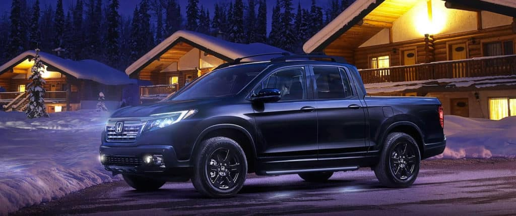 2018 Honda Ridgeline Exterior Black Edition Night