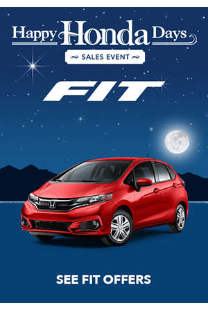 Happy Honda Days 2018 Fit Offers