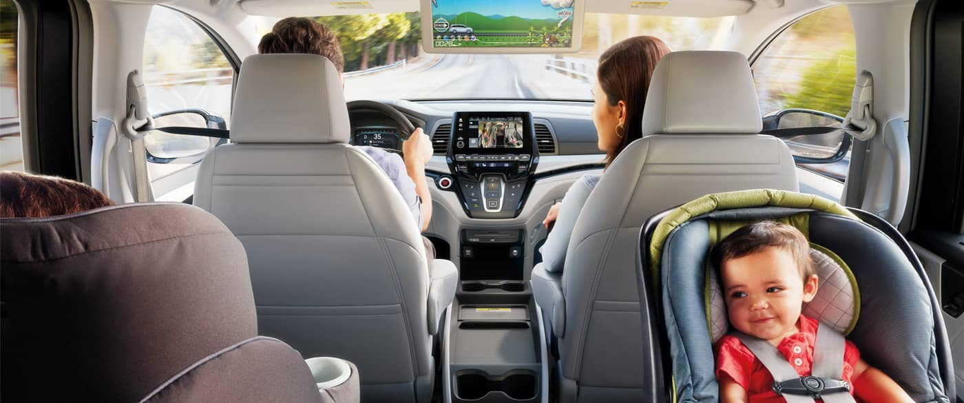 Honda Odyssey Back Seating View