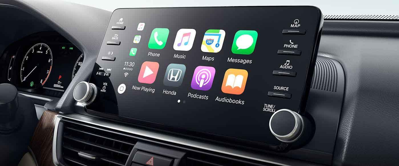 2018 Honda Accord Apple Carplay