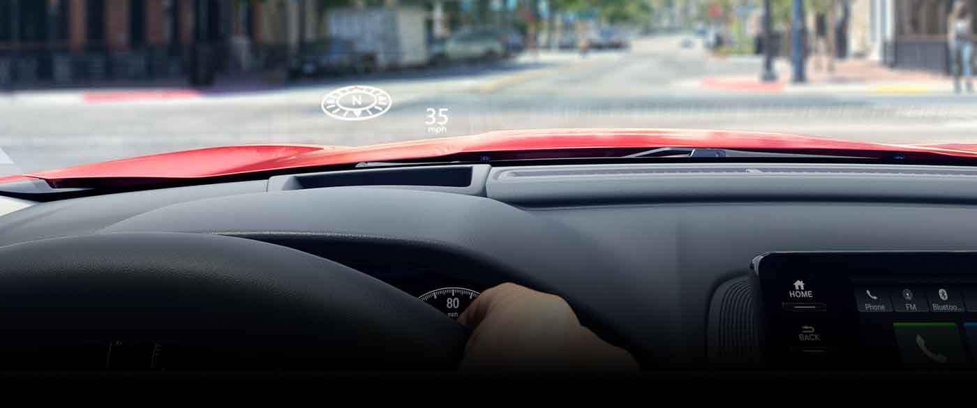 2018 Honda Accord Heads up display